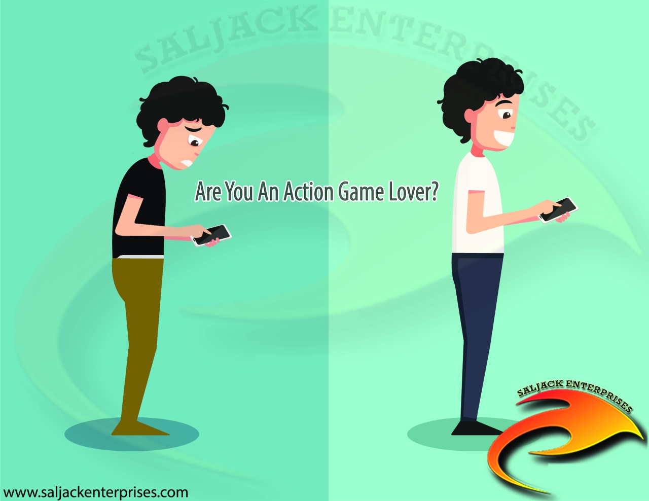 Do Action Games Turn You Off Or On? Presented by Saljack Enterprises