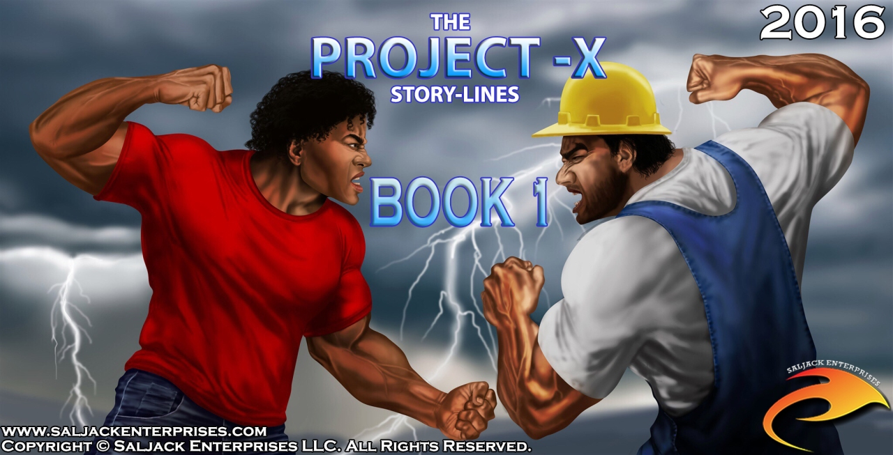 The Project-X Storylines Intro Scene - Book 1. Presented by Saljack Enterprises. Gaming. Media & Entertainment.