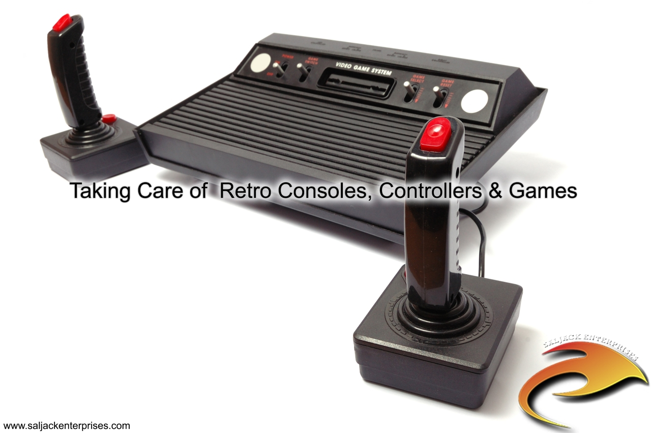 Taking Care of Retro Consoles, Controllers & Games. Presented by Saljack Enterprises. Gaming. Media & Entertainment.