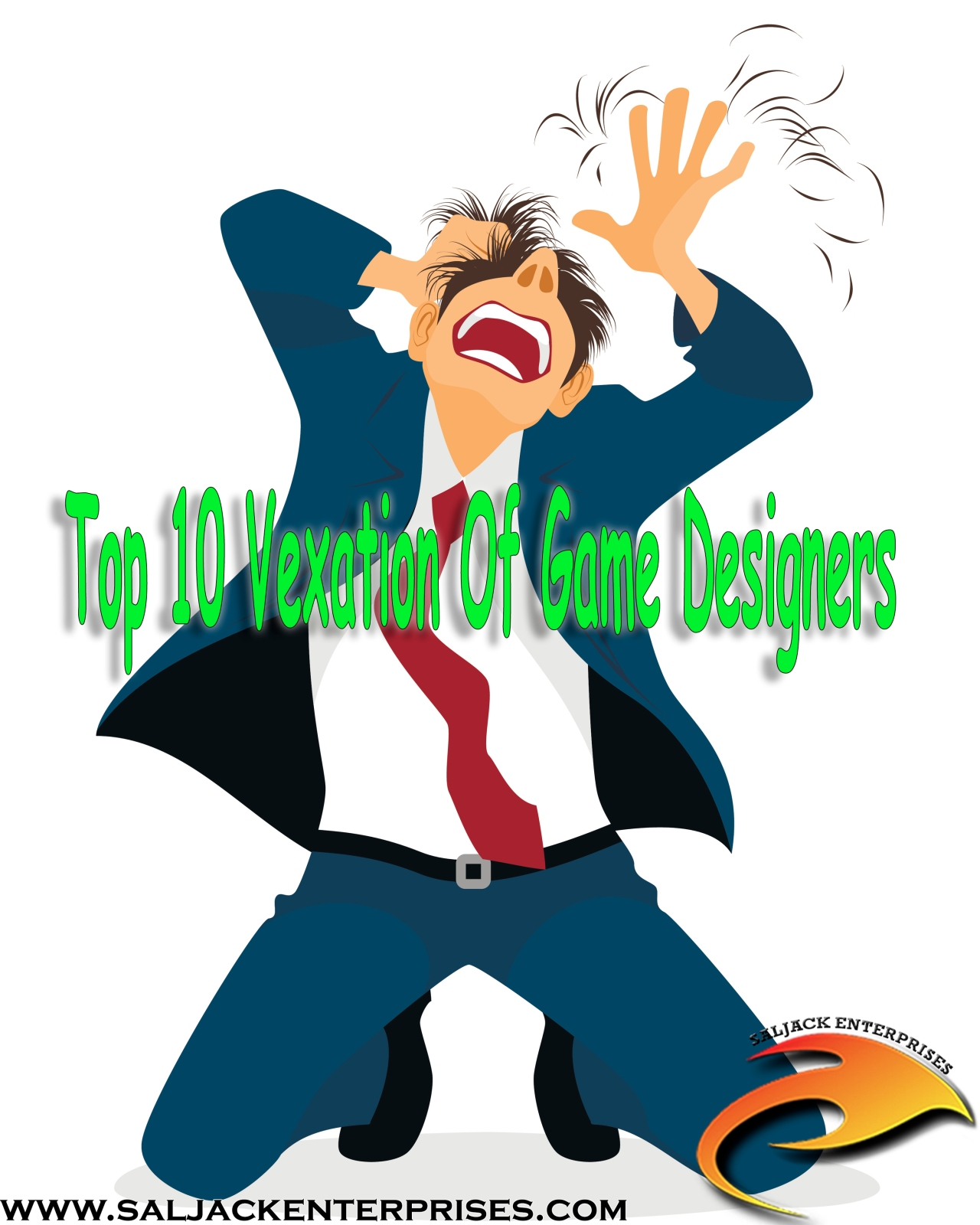 Top 10 Vexation Of Game Designers. Presented by Saljack Enterprises. Gaming. Media & Entertainment.